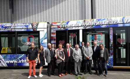 Le Tram des 30 ans de l'IRHT