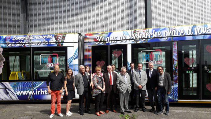 Inauguration tram IRHT