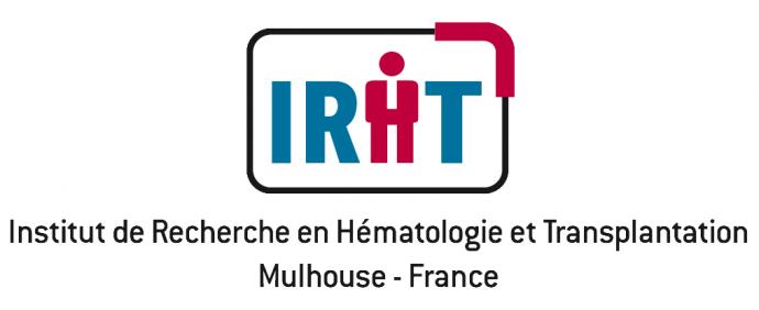 Logo Institut de Recherche en Hématologie et Transplantation Mulhouse