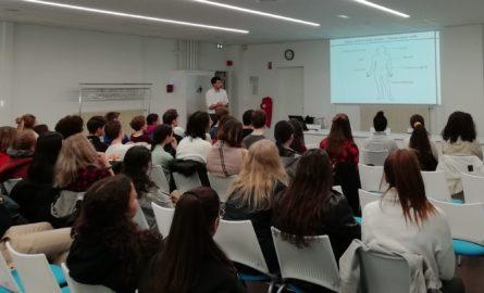 Conférence au lycée LAMBERT de Mulhouse